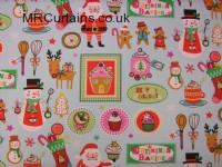 Christmas Bake (Christmas Fabrics) by Clarke & Clarke / Studio G