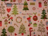Winter Wonderland (Christmas Fabrics) by Clarke & Clarke / Studio G