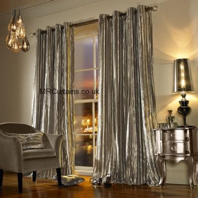 Iliana By Kylie Minogue (Eyelett Heading) ready made curtain