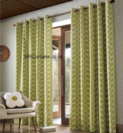 Linear Stem by Orla Kiely ready made curtain