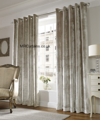 Lux (Eyelett Heading) ready made curtain