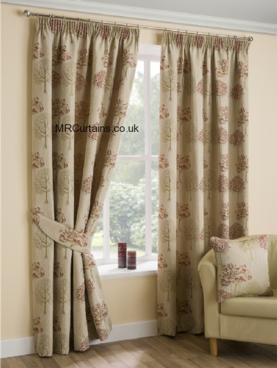 belfield furnishings lily pencil pleat curtain from in chintz. Black Bedroom Furniture Sets. Home Design Ideas
