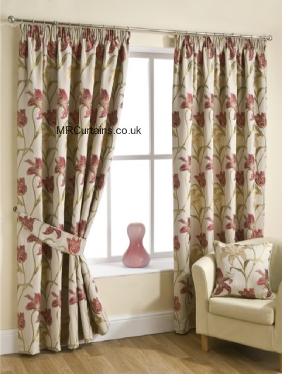 Chintz curtain