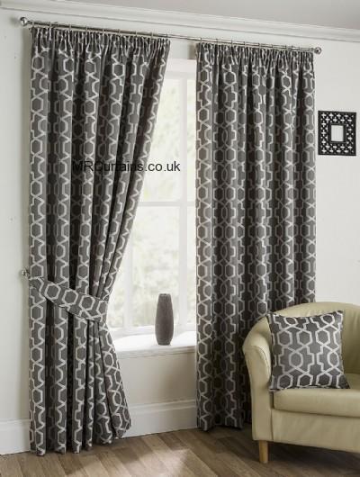 Hamilton Mcbride Belvedere Blackout Pencil Pleat Curtain