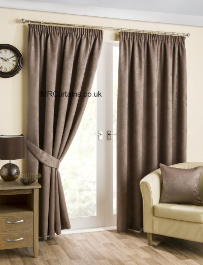 Belvedere Blackout (Pencil Pleat) ready made curtain