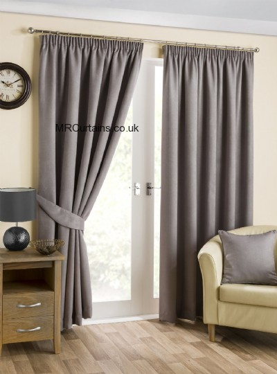 Pewter curtain