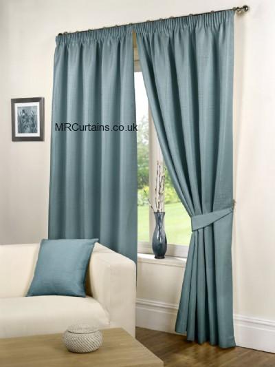 Sea Blue curtain