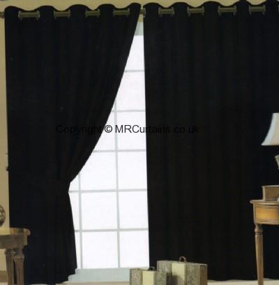 Faux Silk (Eyelets) ready made curtain