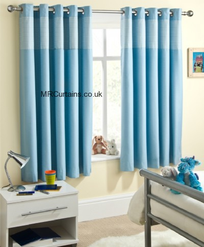 Sundour Padstow (Eyelets) curtain from £22.34 in Blue