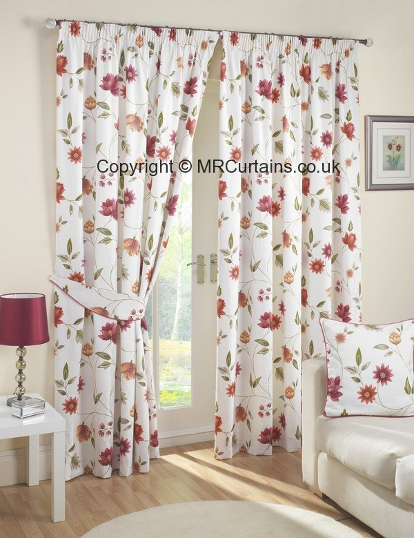 Rectella Julian Charles Canterbury Pencil Pleat Curtain From - Autumn colours for the curtains
