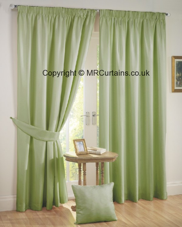 Green Curtains beige and green curtains : Sundour Rome (Pencil Pleat) curtain from £24.64 in Green