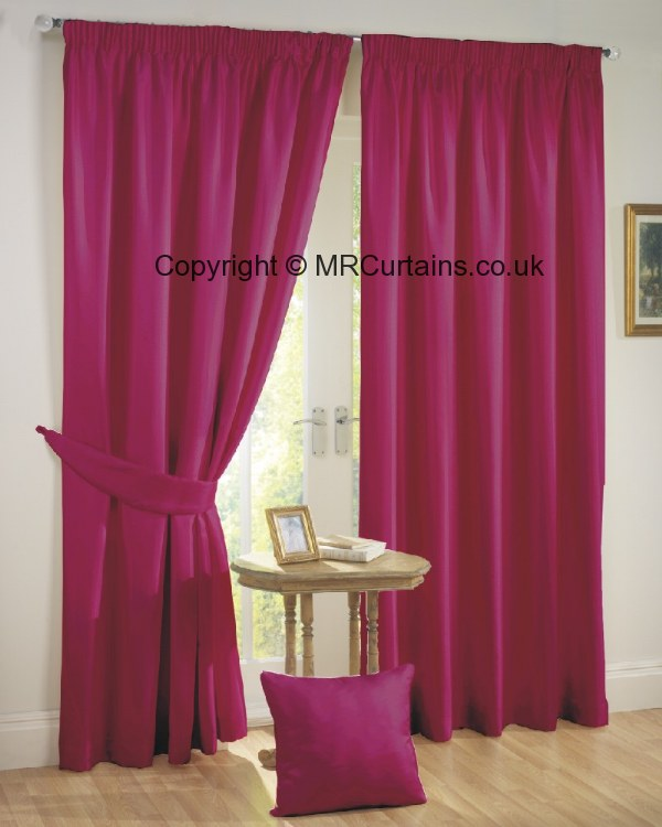 Rectella / Julian Charles Sunset (Blackout) (Pencil Pleat) curtain ...