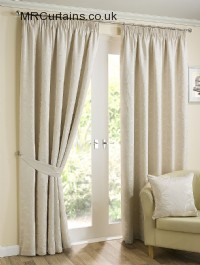 Natural ready made curtains