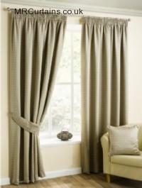 Natural ready made curtains