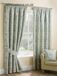 Duck Egg ready made curtains
