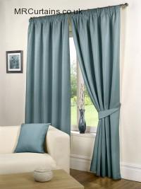 Sea Blue ready made curtains
