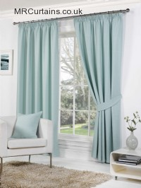Duckegg ready made curtains