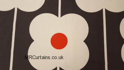 Abacus Flower by Orla Kiely curtain fabric