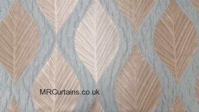 Duckegg curtain