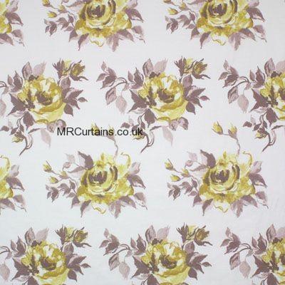 Butterscotch curtain