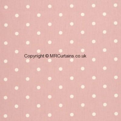 Dotty curtain fabric