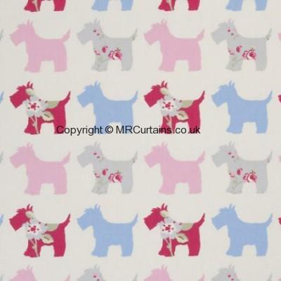Grey/Pink curtain