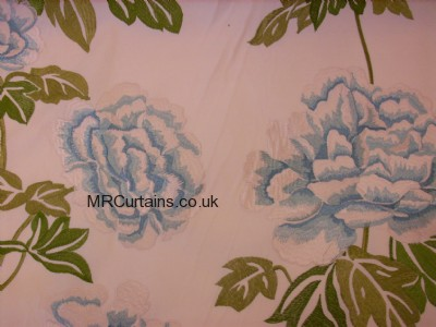Flower (Lorient) (Voyage) curtain fabric