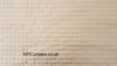 Cream (Reverse Side) curtain
