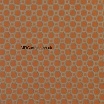 Burnt Orange curtain
