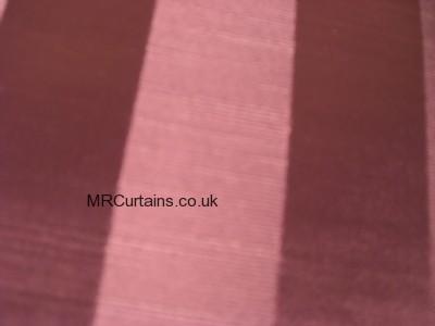 Ascot Stripe curtain fabric