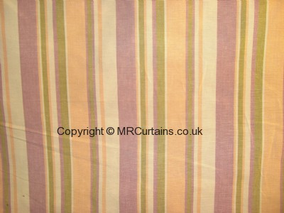 Cotton Stripe roman blind