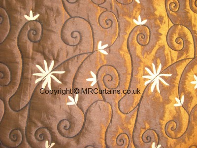 Lustre made to measure curtain