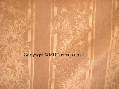 Regal Flowers curtain fabric