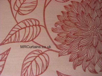 Cranberry curtain