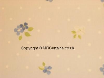 Cornflower curtain