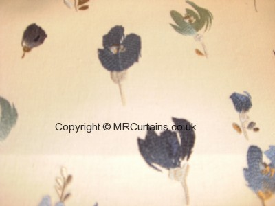 Bluebell curtain