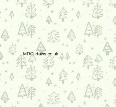 Curtains Ideas christmas curtain fabric : Christmas Tree by Prestigious Textiles Curtain Fabric | Silver £9.99