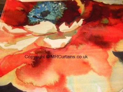 Poppy curtain