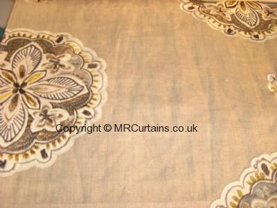 Hoopla curtain fabric