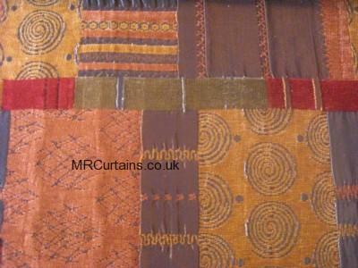 Terracotta curtain