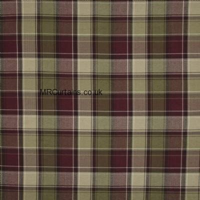Argyle curtain fabric