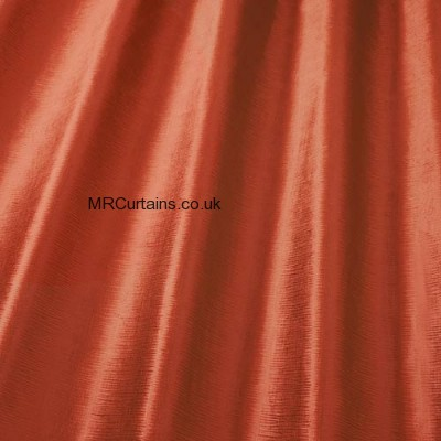 Orange curtain