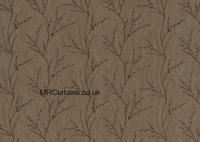 Teaberry curtain