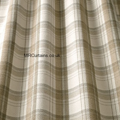 Kendal By ILiv Swatch Box Roman Blinds In Bark