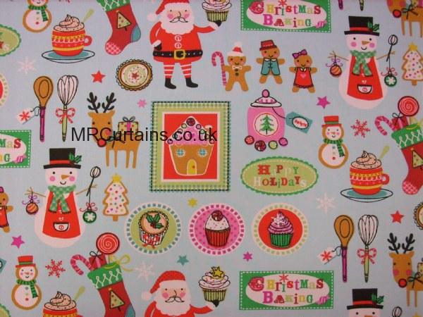 Curtains Ideas christmas curtain fabric : Christmas Bake (Christmas Fabrics) by Clarke & Clarke / Studio G ...