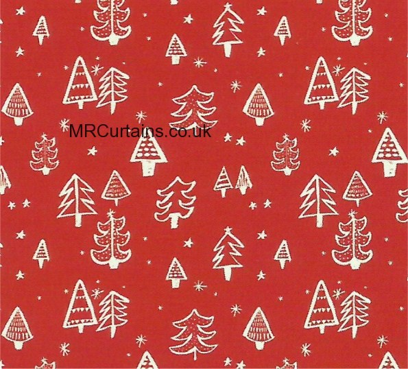 Curtains Ideas christmas curtain fabric : Christmas Tree by Prestigious Textiles Curtain Fabric | Red £9.99