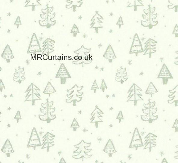Curtains Ideas christmas curtain fabric : Christmas Tree by Prestigious Textiles Curtain Fabric | Silver £9.99