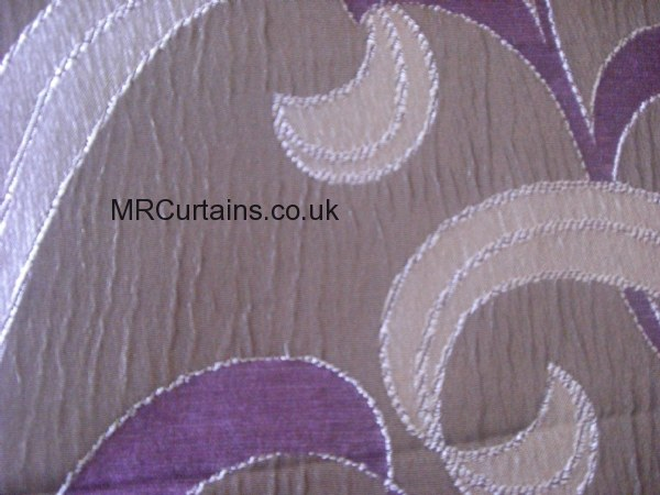 Green Curtains aubergine and green curtains : Pimlico by Style Furnishings Curtain Fabric | Aubergine £27.60