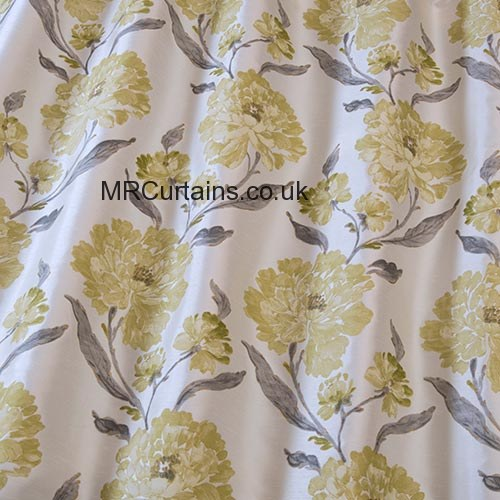 Eternal (5910) by iLiv (Swatch Box) Curtain Fabric | Chartreuse £17.99
