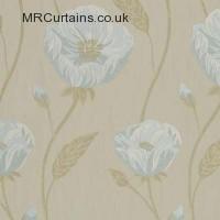 Azure curtain fabric material